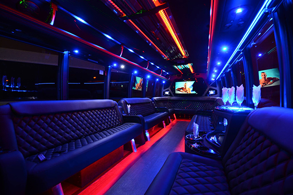 40 Passenger Party Bus Rental Tucson